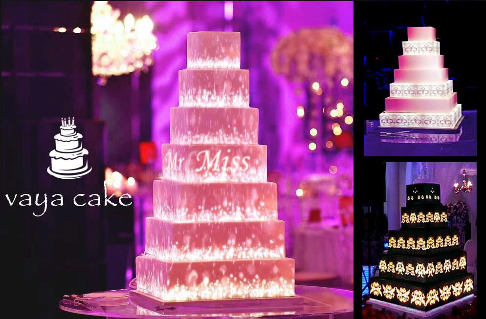 [تصویر: وایا کیک ، جدیدترین نسل کیک های عروسی]